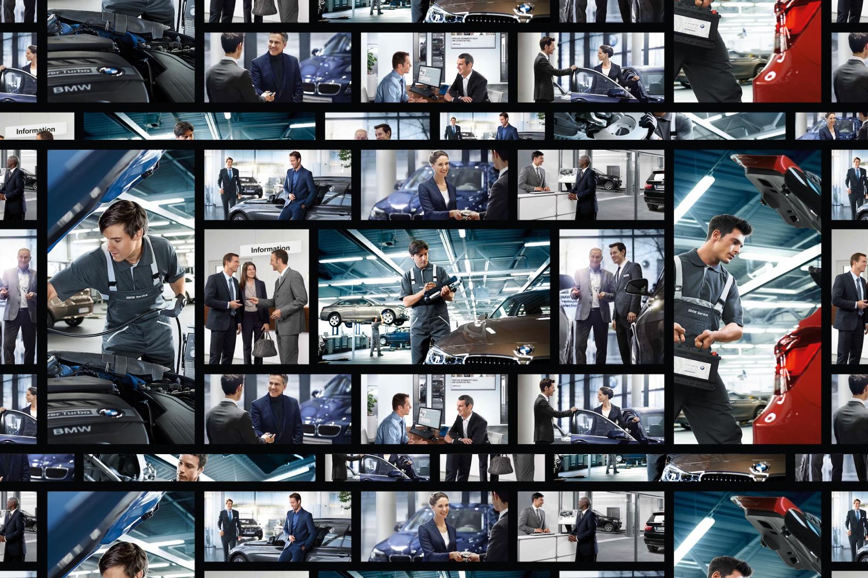 BMW Arbeitsplatz